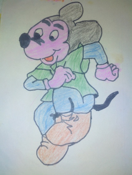 Mickey Rejoiced