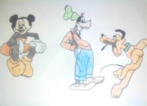 Mickey's Besties