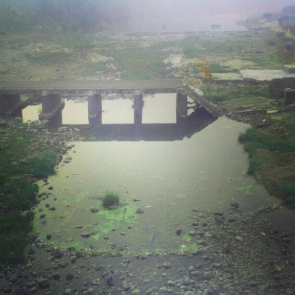 Random old Bridge at Saputara, India