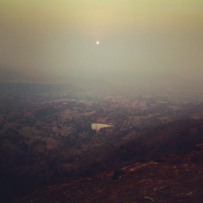 Top-view from Saputara, India
