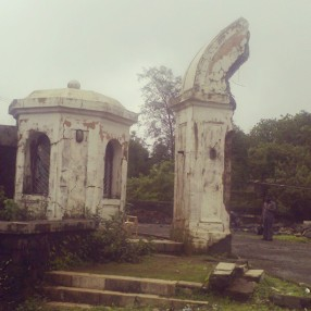 Old destroyed Gates at Lonavla