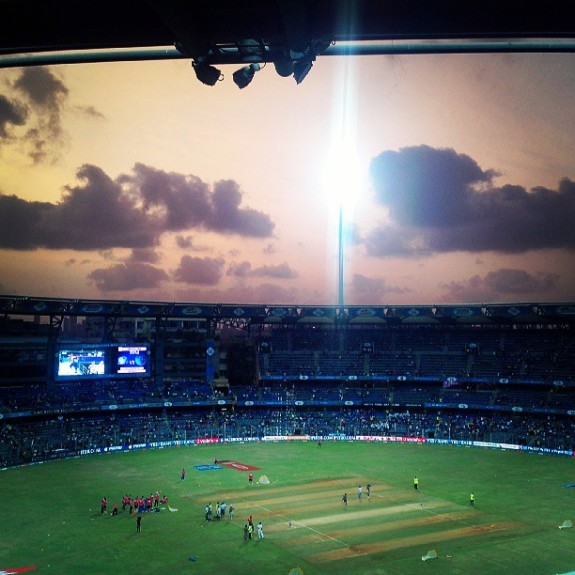 Wankhede Stadium during IPL