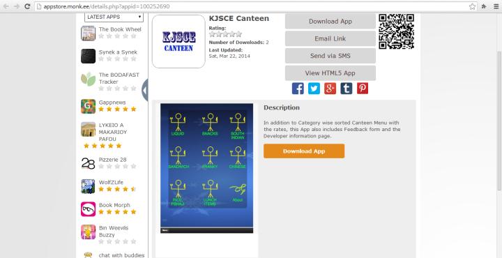 KJSCE Canteen Logo