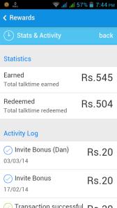 hike Rewards screenshot
