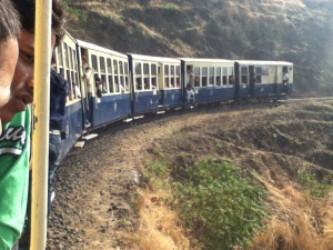 Matheran's famous Toy Train