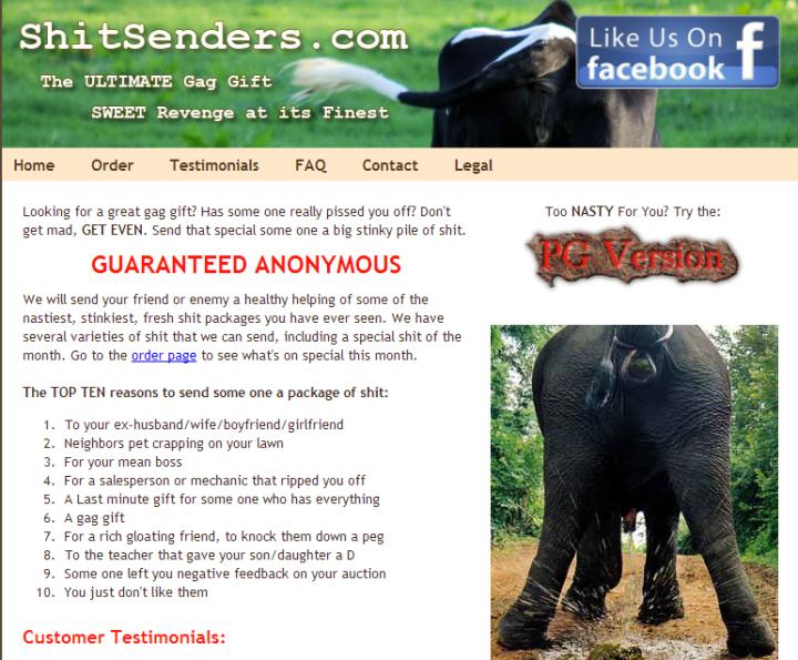 ShitSenders.com