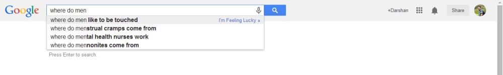 Men, Women & Google (4/6)