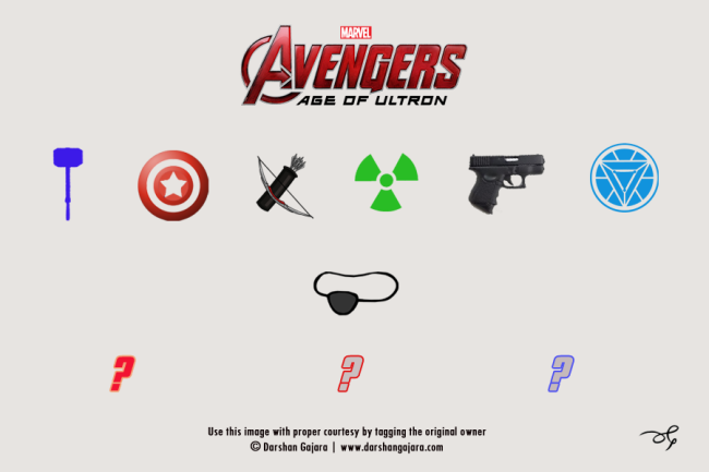 Minimal Poster of The Avengers: Age of Ultron