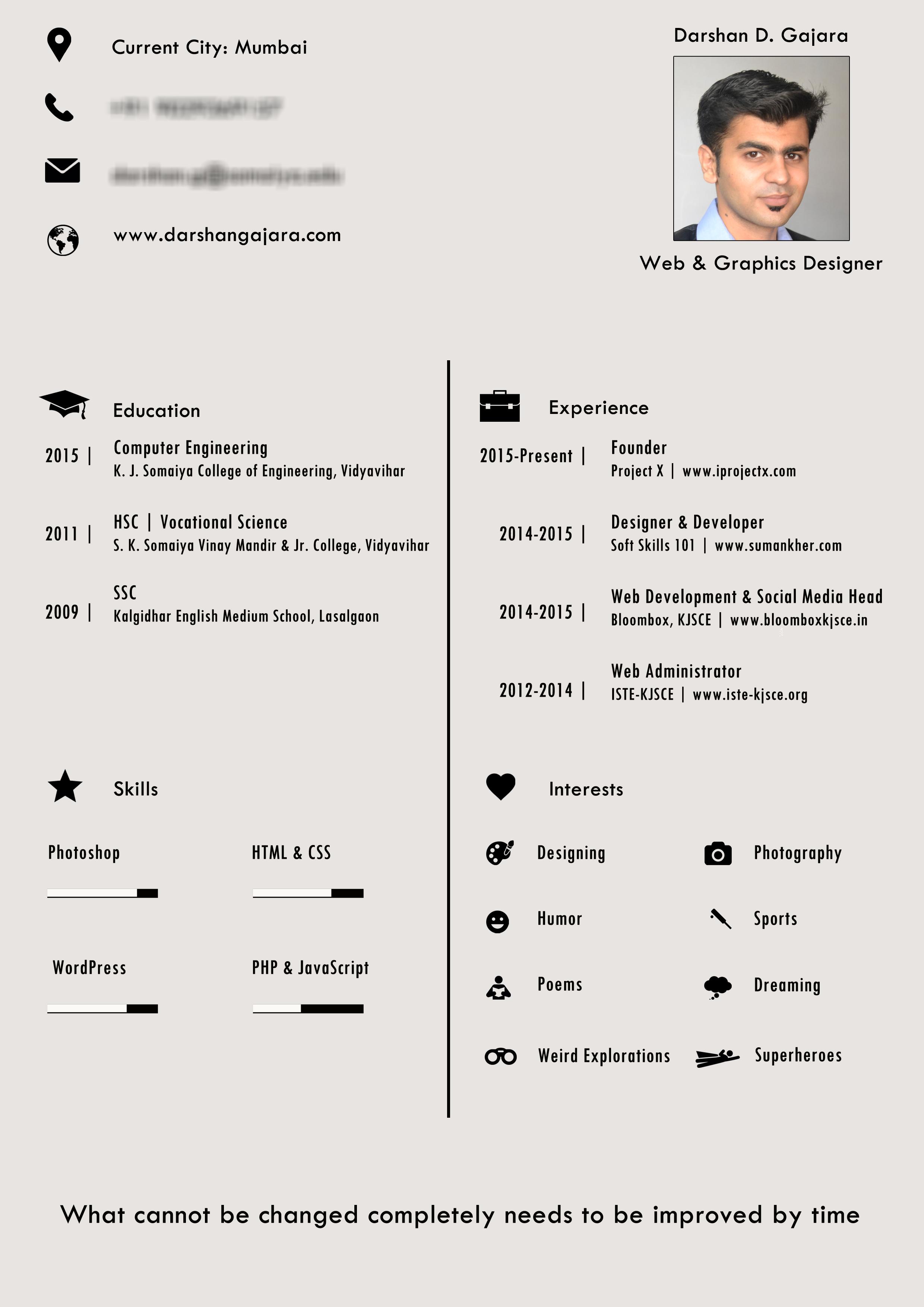 resume file