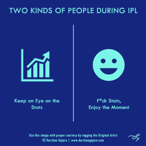 Two Kinds of People During IPL (Poster 6)