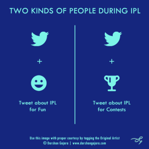Two Kinds of People During IPL (Poster 7)