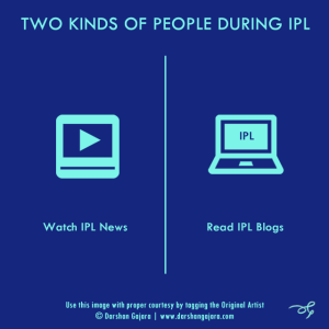 Two Kinds of People During IPL (Poster 9)