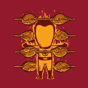 Human 'Roaster' Torch