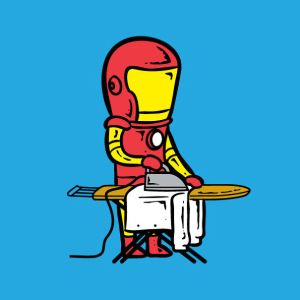 Iron 'Laundry' Man
