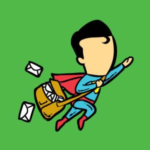 Super 'Post' Man