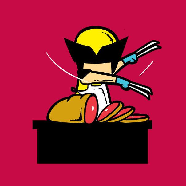 Wolverine 'Meat Chopper'