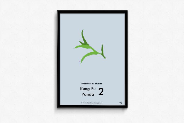 Kung Fu Panda 2 Minimal Poster