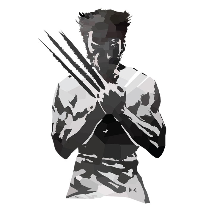 Wolverine Low Poly Claws