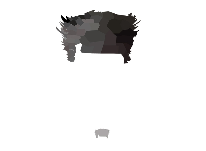 Wolverine Low Poly Head