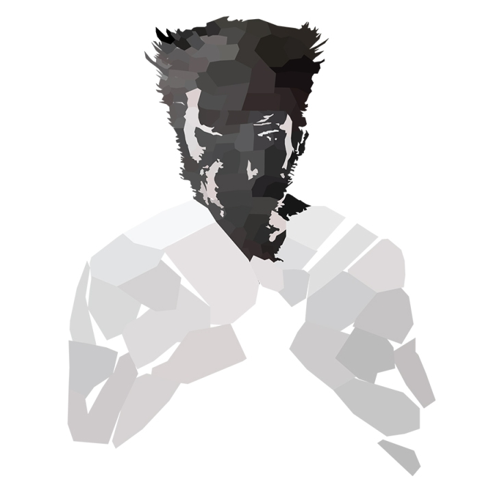 Wolverine Low Poly Upper Body