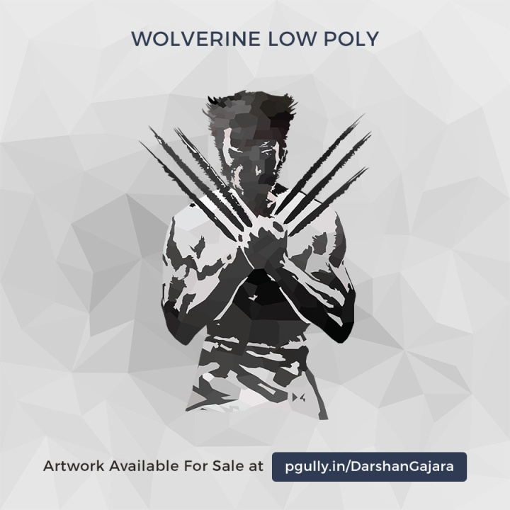 Wolverine Low Poly