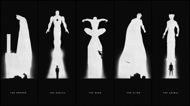Superhero-Past/Present