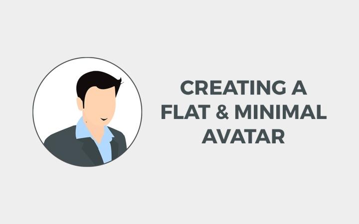 Creating a Flat & Minimal Avatar
