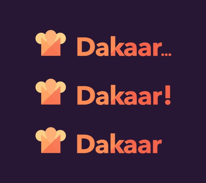 Dakaar Logo Options