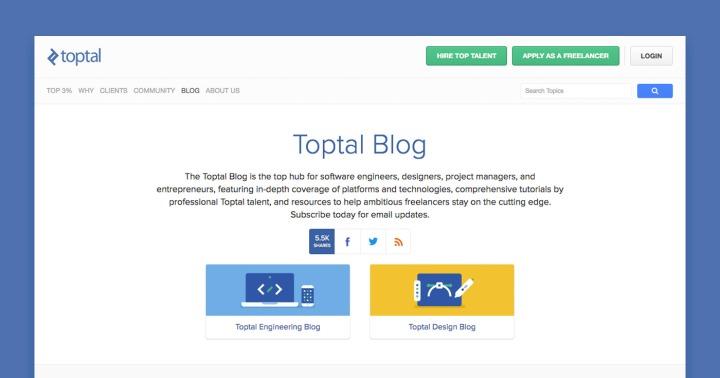 Toptal's blog