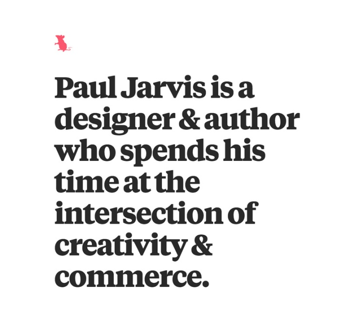 Who is Paul Jarvis