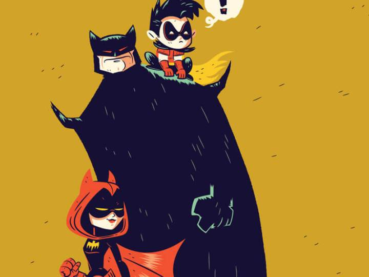 Bat Family Matters by Dennis Salvatier