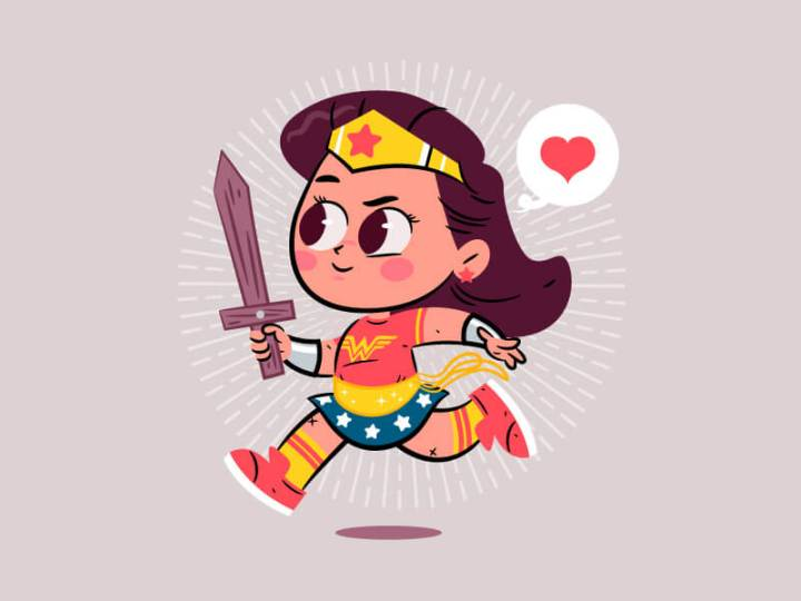 Wonder Woman Day by Dennis Salvatier