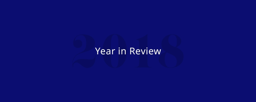 2018 – Year in Review